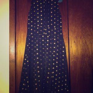 Shoshanna Size 12 Mock Neck High Low Sheath Dress